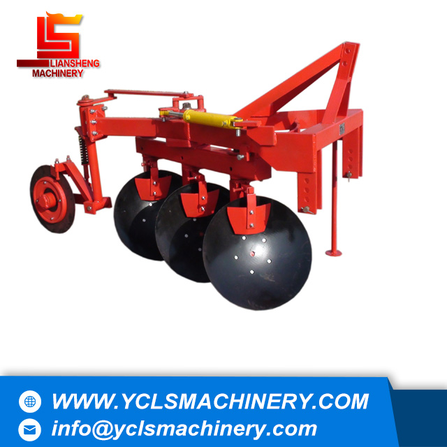 Hydraulic turning/double way disc plough